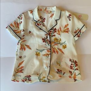🌺🌸NWT girls floral blouse🌸🌺